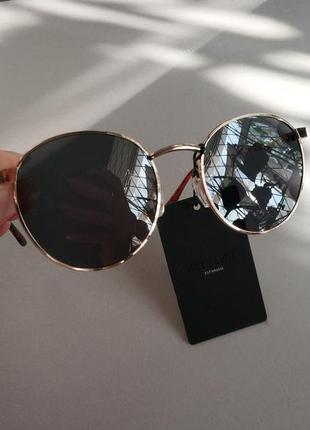 Солнцезащитные очки  панто  унисекс датского бренда only&sons европа оригинал3 фото