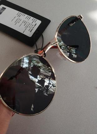 Солнцезащитные очки  панто  унисекс датского бренда only&sons европа оригинал4 фото