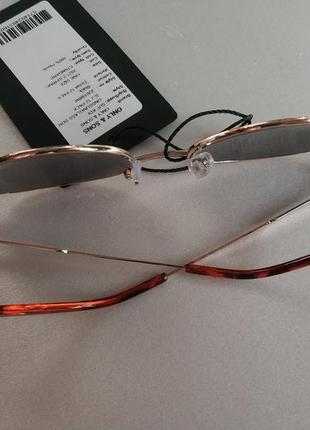 Солнцезащитные очки  панто  унисекс датского бренда only&sons европа оригинал7 фото