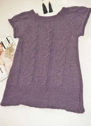 Распродажа! вторая вещь -40%! свитер кардиган жилет крупная вязка