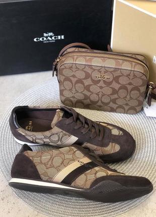 Трендовый набор (сумка+кроссовки) coach