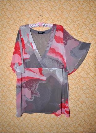 Легкая блуза, пляжная туника р-р 52 eur, 56-58 rus