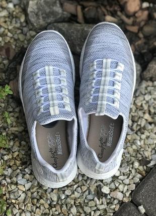 Фирменные удобные женские кроссовки rieker(германия)39р.6 фото