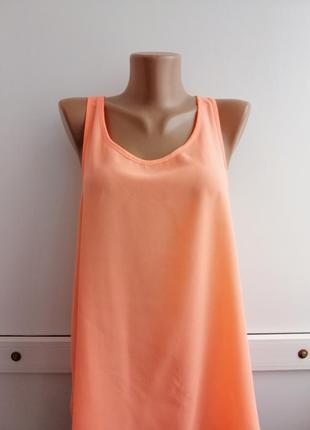 Блуза оранжевая летняя