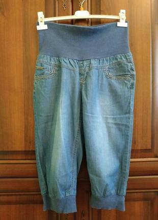 Літні джинсові бріджі/капрі для вагітних від орсей (orsay)