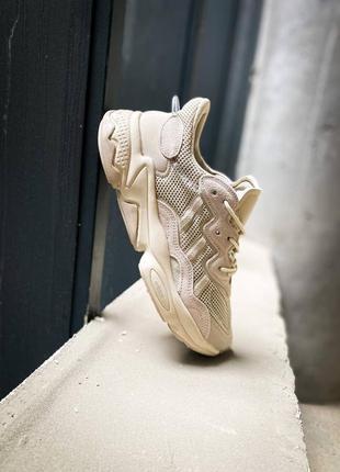 "Кроссовки  adidas ozweego ""beige"""