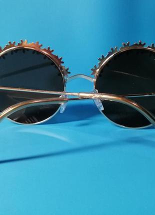 😍стильные женские солнцезащитные очки с цветочным дизайном😍6 фото