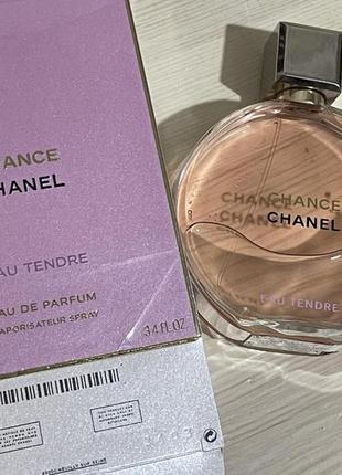 Chanel chance eau teandre edp original pac 100 ml