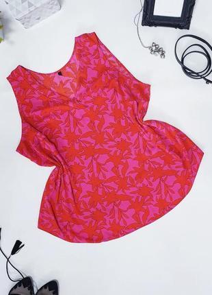 🖤яркая тонкая блуза с v- образным вырезом