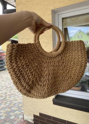 Сумка,соломенная сумка
