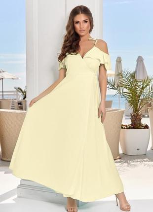 Платье на запах разные цвета