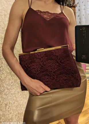 Набор комплект топ+сумка клатч рубашка блузка майка сумка