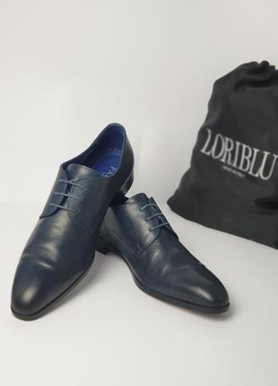 Кожаные туфли 43 размера