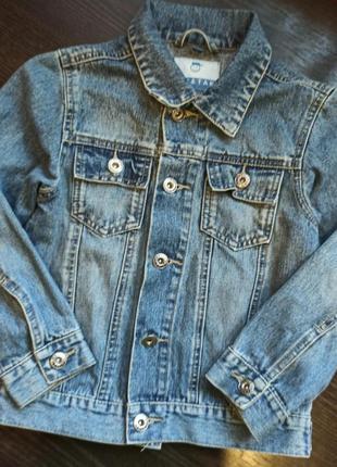 Джинсовка синяя джинсовый пилжак куртка