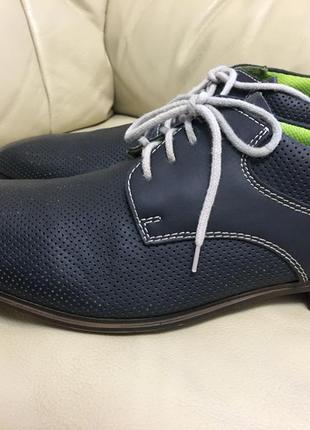 Кожанные туфли riker
