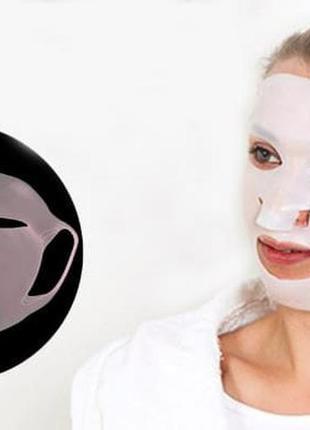 Силиконовая маска для лица. многоразовая!2 фото