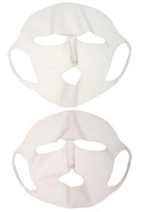 Силиконовая маска для лица. многоразовая!3 фото