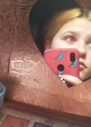 Красные контактные линзы2 фото