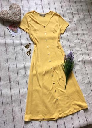 Потрясающее миди платье на красивых пуговках