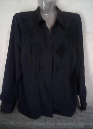 1+1=3 фирменная рубашка- блузка, наш размер 54