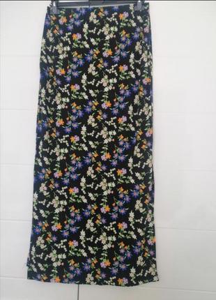 Спідниця юбка довга розмір виробника 14 в ідеальному стані 🌸🌿🌸