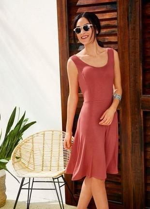 Летнее платье, сарафан из вискозы, l 44-46 euro, esmara, германия