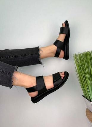 Кожаные босоножки сандали шкіряні босоніжки