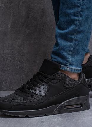 Кросівки чоловічі чорні💪 демісезон✅