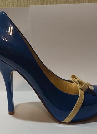 Туфли guess синие
