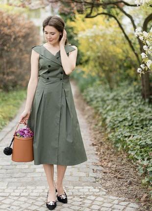 Платье сарафан zara m