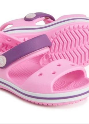 Детские босоножки crocs c10 c11