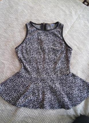 Супер блуза з баскою
