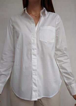Хлопковая рубашка базовая