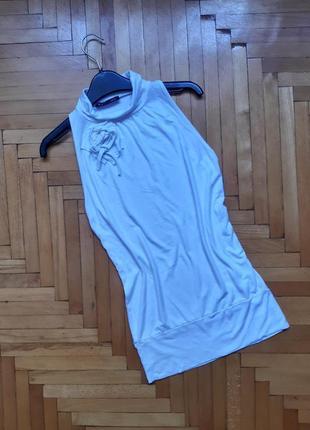 Блуза с открытыми плечами нарядный топик вискоза гольф с открытыми плечами италия s m