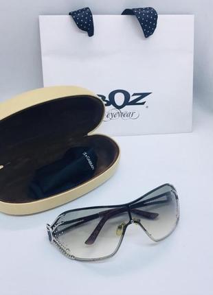 Trussardi натур стразы swarovski оригинал очки купила в италии в фирменном магазине4 фото