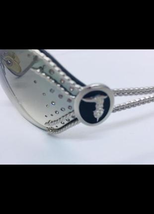 Trussardi натур стразы swarovski оригинал очки купила в италии в фирменном магазине9 фото