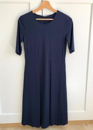 Платье cos синее