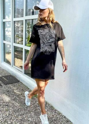 Платье-футболка2 фото