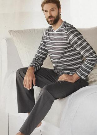 Мужская пижама livergy m, l, xl