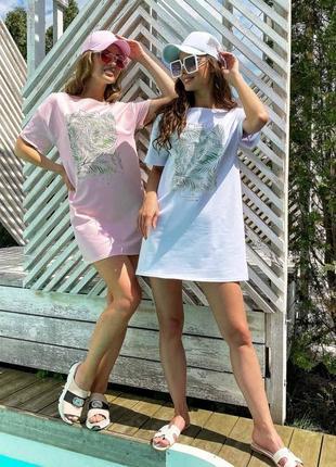 Платье-футболка9 фото