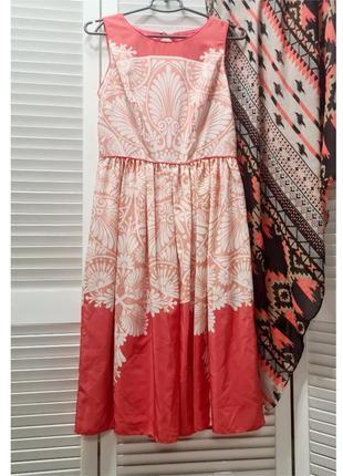 Красивое летнее платье с принтом monsoon3 фото