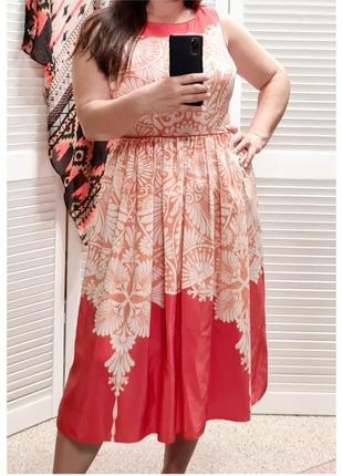 Красивое летнее платье с принтом monsoon2 фото