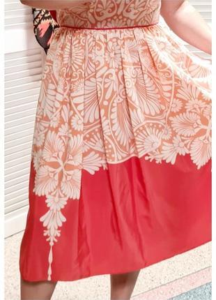 Красивое летнее платье с принтом monsoon5 фото