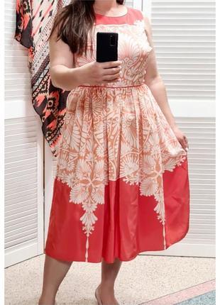 Красивое летнее платье с принтом monsoon1 фото