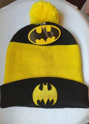 Мужская шапка batman