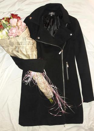 Пальто на молнии размер 14