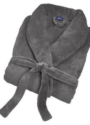 Мужской флисовый халат miomare3 фото