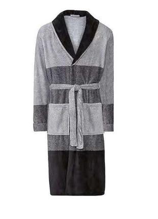 Мужской флисовый халат miomare2 фото