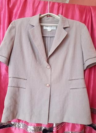 Летний жакет. блуза