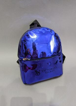 Красивый зеркальный женский рюкзак